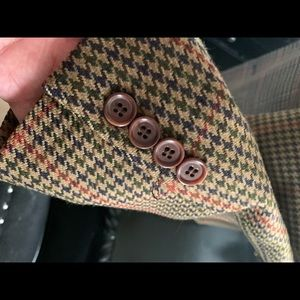 Paul Stuart Suits & Blazers - Paul Stuart Houndstooth 100% wool 43 L jacket coat